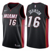 Miami Heat Basket Tröja 2018 James Johnson 16# Icon Edition..
